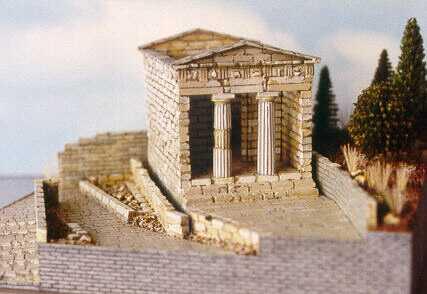Treasury of the Athenians, Delphi, Greece