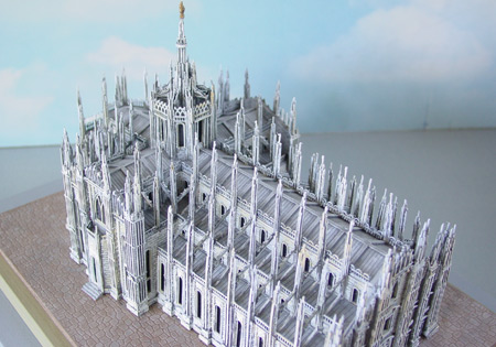 Miniature Model Of Milan Cathedral