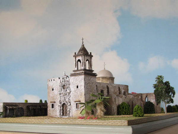 Miniature Model Of Mission San Jose San Antonio Tx