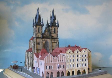 Church Of Our Lady Before Tyn Prague